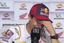 Marc Marquez weint nach MotoGP-Comeback: Emotionale Explosion