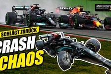 Formel 1 - Video: F1-Wahnsinn in Imola: Crash-Chaos und bizarre Strafen erklärt