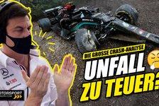 Formel 1 - Video: Nach Formel 1 Mega-Crash: Mercedes klagt über Geldprobleme!