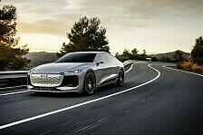 A6 e-tron concept: Audis neue Elektrostudie der Oberklasse