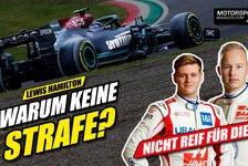 Formel 1 - Video: Warum wurde Hamilton von den Formel 1 Stewards nicht bestraft?