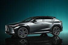 Toyota leitet mit der neuen Studie bZ4X den Wandel ein