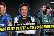 Formel 1 - Video: Was fällt Vettel & Co so schwer? Teamwechsel in der Formel 1