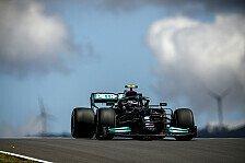 Formel 1 Portugal, 1. Training: Bottas vor Verstappen und Perez
