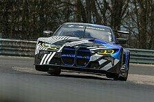 DTM 2021: Erster Test des neuen BMW M4 GT3 auf Nordschleife