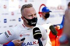 Formel 1, Mazepin zu langsam: Haas macht Rennen zum Test