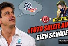 Formel 1 - Video: Red Bull sauer auf Toto Wolff: Kommt VW in die Formel 1?