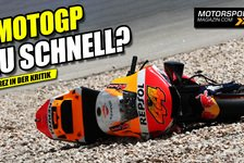 MotoGP - Video: Nach schweren Stürzen: MotoGP-Sicherheitsdebatte in Jerez