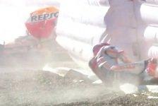 MotoGP Jerez - Warm-Up: Marquez stürzt erneut, Vinales auf P1