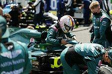 Formel 1, Vettel von Aston Martin enttäuscht: Nicht flott genug