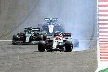 Formel-1-Crash in Portugal: Räikkönen von Notfall abgelenkt