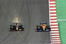 Formel 1, Perez klagt über Norris: Hat mir mein Rennen gekostet