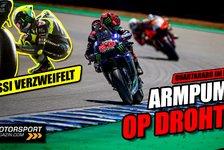 MotoGP - Video: Armpump zerstört Quartararos Rennen: MotoGP-Analyse Jerez-GP
