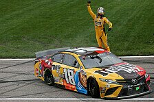 NASCAR 2021: Fotos Rennen 11 - Kansas Speedway