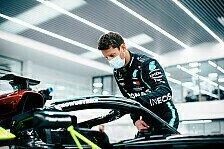 Formel-1-Sitzprobe: Romain Grosjean testet für Mercedes