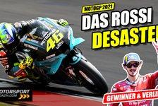 MotoGP - Video: Valentino Rossi desaströs: Die tragische Figur der MotoGP 2021