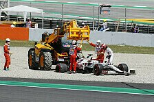 Formel 1, Kubica wirft Räikkönen-Auto weg: Hatte mehr erwartet