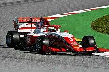 Formel 3, David Schumacher: Erst Führung, dann Ausfall