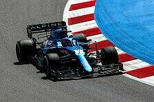 Formel 1, Alpine auch in Barcelona schnell: Probleme beseitigt?