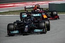 Formel 1 Spanien, Qualifying: 100. Hamilton-Pole, Verstappen P2