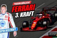 Formel 1 - Video: Mazepin bestraft, Kehrt Ferrari aufs Formel 1-Podium zurück?