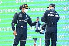 Formel 1 - Lewis Hamilton: Bottas ein fantastischer Teamkollege