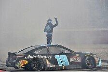 NASCAR 2021 Darlington: Dominator Truex holt 3. Saisonsieg