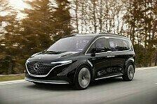Mercedes Concept EQT: Erste Eindrücke von kleinem Elektro-Van