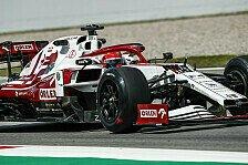 Formel 1 2021: 18-Zoll-Reifentest mit Kubica & Alfa Romeo