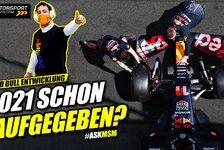 Formel 1 - Video: Gibt Red Bull sein 2021er Formel 1 Auto auf?