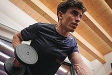 Rückschlag für Marc Marquez: Körperlich noch weit entfernt