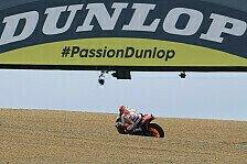 MotoGP Le Mans: Marquez holt Bestzeit auf nasser Strecke