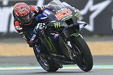 MotoGP Le Mans: Fabio Quartararo holt Heim-Pole im Wetterchaos