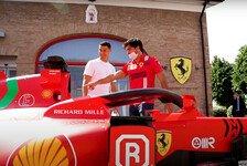 Formel 1 - Video: Carlos Sainz und Charles Leclerc treffen auf Christiano Ronaldo