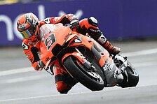 MotoGP Le Mans: Viele Stürze im Regen, Petrucci voran