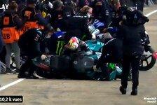 Franco Morbidelli: Knieverletzung schuld an kuriosem Sturz