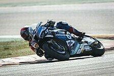 Superbike-WM: Jonas Folger startet in Aragon nur vom 18. Platz
