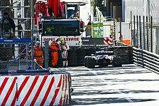 Mick Schumacher crasht Monaco-Training: Glück im Unglück