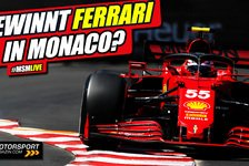 Formel 1, MSM Live-Stream: Ferrari Sieganwärter in Monaco?