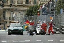 Formel 1 2021: Monaco GP - Unfall Mick Schumacher