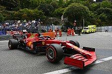 Formel 1, Monaco-Qualifying: Leclerc sichert Pole mit Unfall
