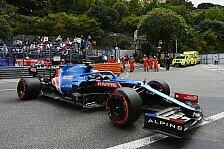 Formel 1, Ocon blockt sich zu P9: Alpine wird zur Schnecke