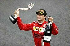 Formel 1: Sainz verrät Gründe für starken Ferrari-Einstand