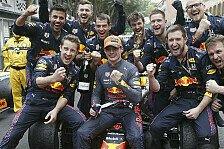 Formel 1, Verstappen perfekt: Sieg und WM-Führung für Red Bull