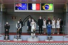 Formel 2 2021: Monaco GP - Rennen 4 bis 6