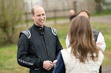 Prinz William testet Extreme-E-Auto: Boss hofft auf Gaststart