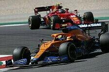 Formel 1, McLaren vs. Ferrari: Leclerc-Pech gibt Ausschlag
