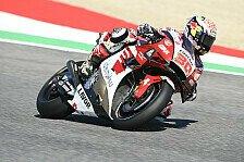 MotoGP Mugello - Warm Up: Nakagami holt Bestzeit, Mir stürzt