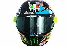 Valentino Rossi: So sieht sein Helm-Design für Mugello aus