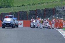 Schlimmer Unfall überschattet Moto3-Qualifying in Mugello